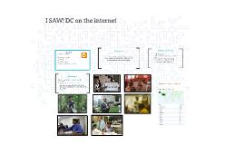 I SAW! DC on the internet