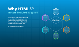 Why choosing HTML5 instead of Native apps