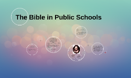The Bible in Public Schools
