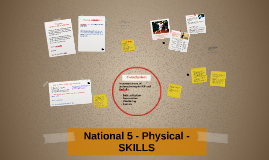 National 5 - Physical - SKILLS