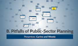 Pitfalls of public-sector planning