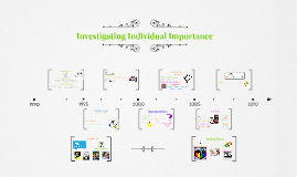 Investigating Individual Importance
