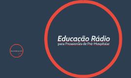 Educação rádio