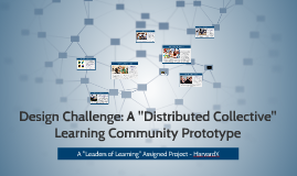 "Design Challenge - A ""Distributed Collective"" Prototype"