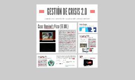 GESTIÓN DE CRISIS 2.0