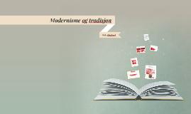 Modernisme og tradisjon