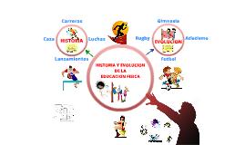 Copy of Copy of HISTORIA Y EVOLUCIÓN DE LA EDUCACIÓN FISICA