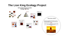 Copy of The Lion King Ecology Project