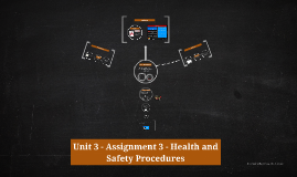 Copy of Unit 3 - Assignment 3 - Health and Safety Procedures