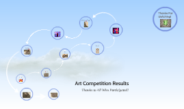 Art Competition Results