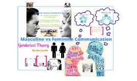 Deborah Tannen - Genderlect Theory