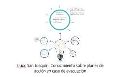 Duoc San Joaquin: Conocimiento sobre planes de accion en cas