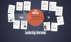 Leadership Interviews