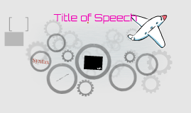 Title of Speech