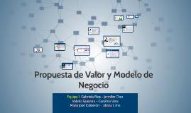 Propuesta de Valor y Modelo de Negocio