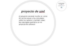 proyecto de uml