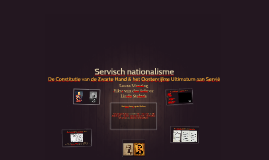 Copy of Servisch nationalisme