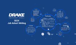 SEEK - Job Advert Writing