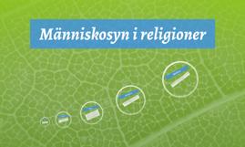 Människosyn i religioner