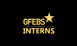 Copy of GFEBS Interns