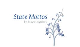 State Mottos