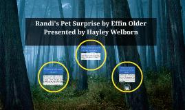 Randi's Pet Surprise by Effin Older