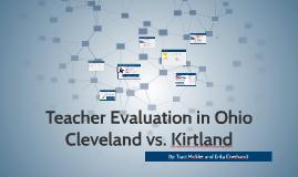 Evaluation in Ohio