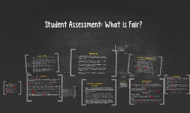 Copy of Copy of Student Assessment: What is Fair?