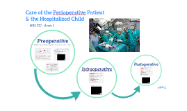 Care of the Perioperative Patient