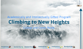 """Climbing to New Heights"" - AIG"