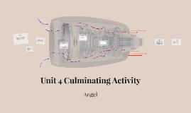 Unit 4 Culminating Activity