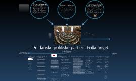 8D om De danske politiske partier