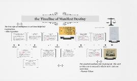 Copy of the Timeline of Manifest Destiny