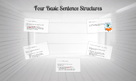 4 Basic Sentence Structures