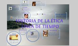 HISTORIA DE LA ETICA, LINEA DE TIEMPO