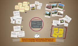 Speech-Language Pathologists Opinions on Service Delivery Mo
