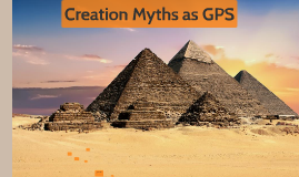 Creation as GPS