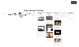 Match Moving / Tracking