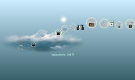 Vocab 12 Advanced