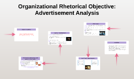 Organizational Rhetorical Objective: Advertisement Analysis