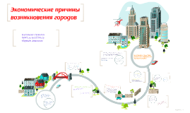 Экономические причины возникновения городов