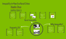 Inequality in Mao Era Rural China