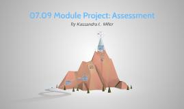 07.09 Module Project: Assessment
