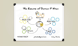 White Board Prezumé by Damian Khan
