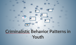 Criminalistic Behavior Patterns in Youth