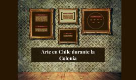 Arte en Chile durante la Colonia