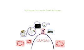 Celebraciones históricas del Estado de Guerrero.