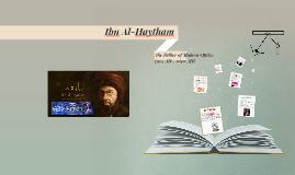 Ibn Al-Haytham