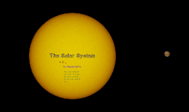 The Solar System!