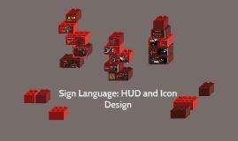 Sign Language: HUD and Icon Design